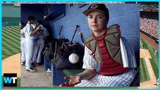 ONE-ARMED High School Catcher Luke Terry Is A Viral Inspiration! | What
