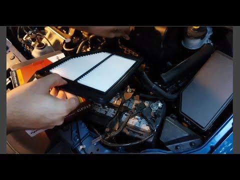 2015 Honda Civic Engine Air Filter Replacement