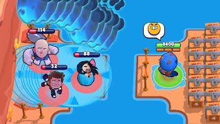 1 SECOND 10 GADGETS! Most Satisfying! Brawl Stars Funny Moments & Fails & Win ep.291