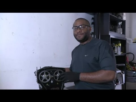 Engine Vibrations After a Timing Belt Replacement : Timing Belts & Other Auto Repairs