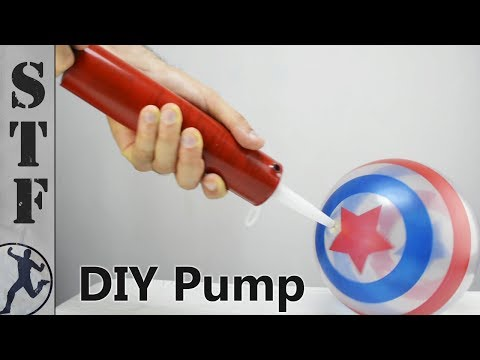 How to Make a Pump from a Caulking Tube