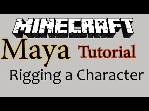 Tutorial: Rigging a Minecraft character in Maya