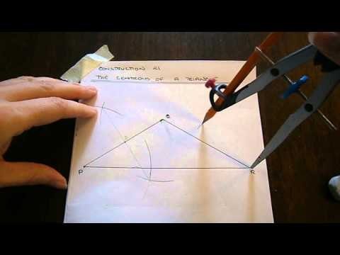 Construction No. 21 - The Centroid of a Triangle