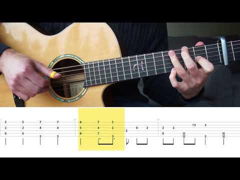 Charlie Puth - How Long - Fingerstyle Guitar Tutorial (lesson) by Mattias Krantz