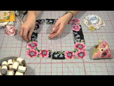 How to Make a Hankie Flower Brooch, from Indygo Junction