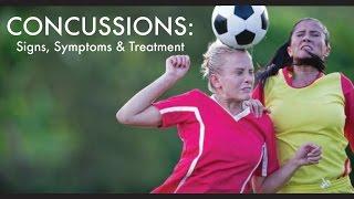Concussion Signs Symptoms Treatment