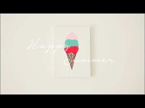 Nail Polish Ice Cream Painting | A Way to Repurpose Old Nail Polishes