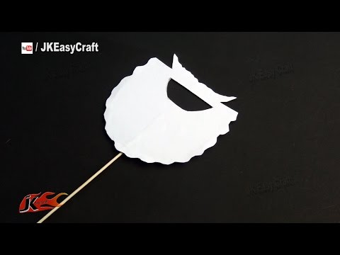 DIY Easy Christmas Party Prop| Photo Booth Props | How to make | JK Easy Craft 111