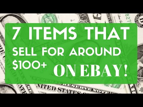 7 items that sell for around $100 or more on eBay