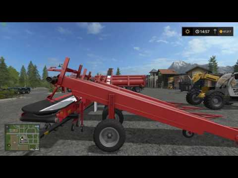 Farming Simulator 2017 Bulk Seed and Fertilizer Loading and Unloading - Updated version