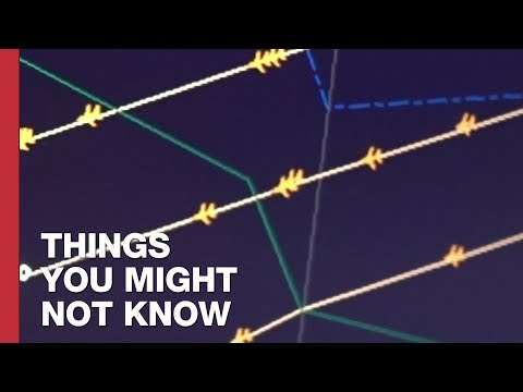 Keeping Aircraft Safe without Radar: The North Atlantic Tracks