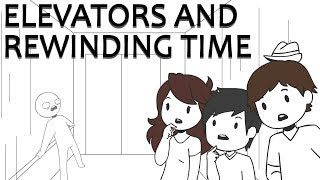 Hypotheticals: Elevators And Rewinding Time (ft. Footofaferret   Jaidenanimations)