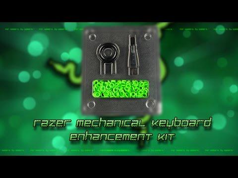 Razer Mechanical Keyboard Enhancement Kit - Unboxing + Sound Comparison + Installation
