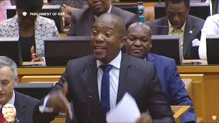 Mmusi Maimane vs Jacob Zuma On Brian Molefe