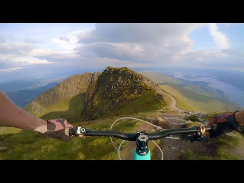 Ben Lomond - mtb - Scotland - GoPro karma grip