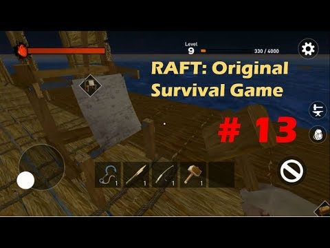 FINALLY FIGURED OUT HOW TO MAKE ROPES! | RAFT: Original Survival Game GAMEPLAY Part 13