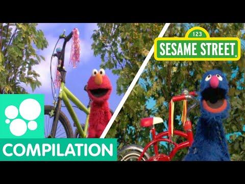 Sesame Street: Bikes, Trains, Planes, and Cars!