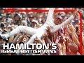 Lewis Hamiltons Great British Grand Prix Wins