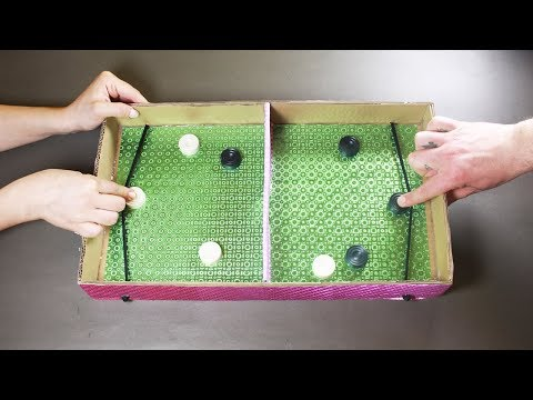 DIY CRAZY CARDBOARD GAME