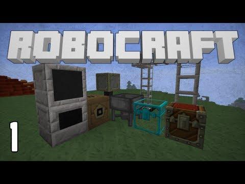 RoboCraft: Ep. 1 - Vitamin Ore
