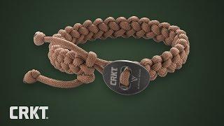 CRKT Quick Release Paracord Bracelet | by Jason Scarvalas
