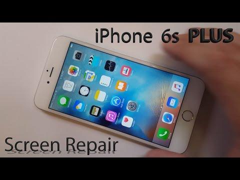 iPhone 6s Plus Screen Repair shown in 4 minutes Fix