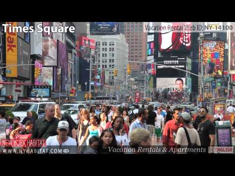 Video Tour of a Studio Apartment Vacation Rental in Hell's Kitchen, Manhattan, New York