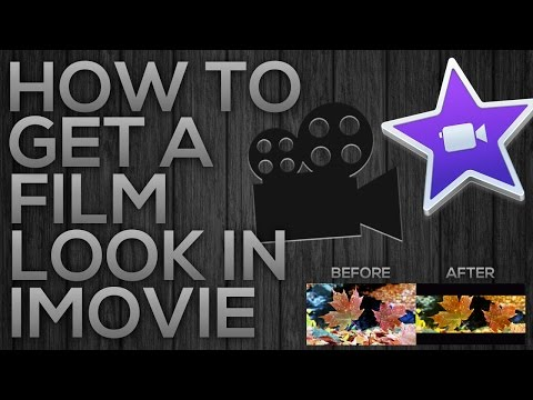 How To Get A Film Look In iMovie
