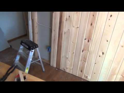 Creating a Tongue & Groove Accent Wall PART II
