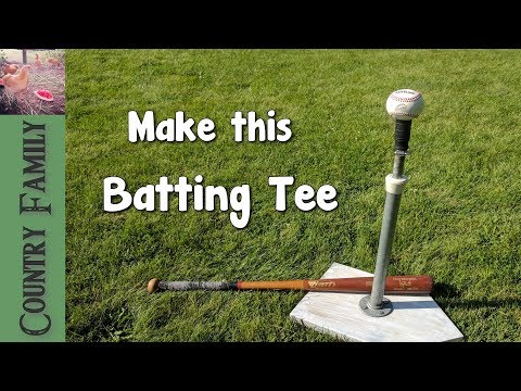 The Best Batting Tee - How to make it