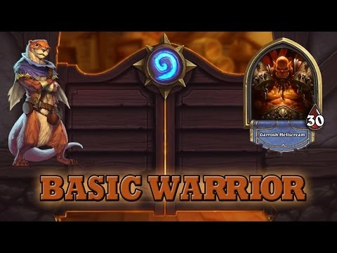 Hearthstone Deck Guide - Starter Warrior (Basic Cards Only)
