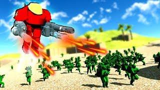 Epic AC-130 Plane AIRSTRIKE Destroys Entire Enemy Base! (Ravenfield