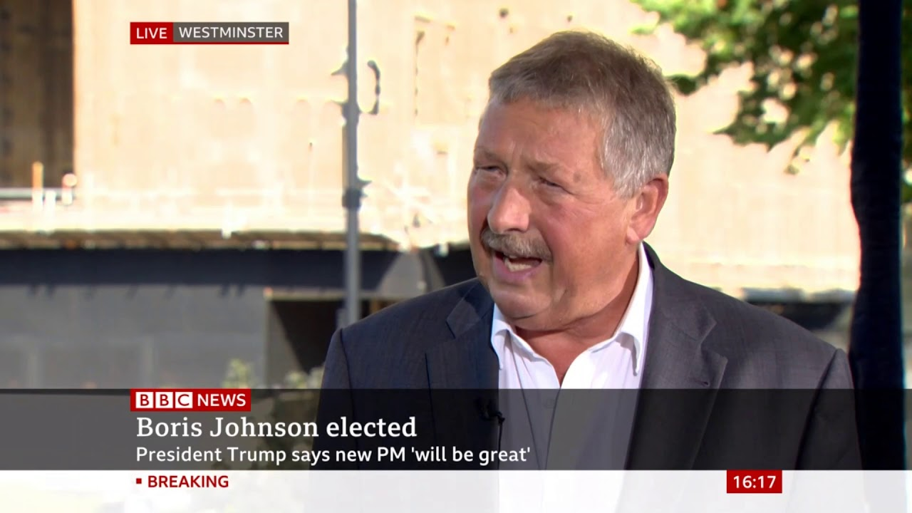 Sammy Wilson discusses Brexit policy and the DUP's stance as Boris Johnson becomes PM