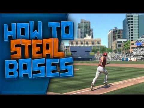 How to steal bases - MLB The Show 15 - Road to the Show Tips! %100 EFFECTIVE!