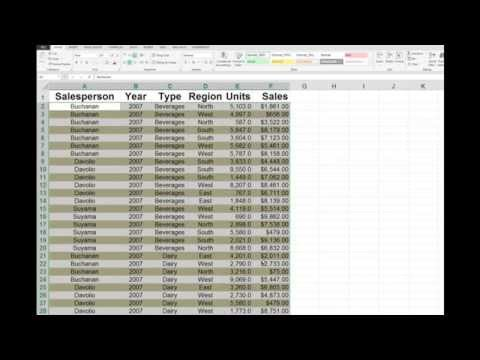 Create color banded rows in Excel 2007,2010 and 2013 spreadsheets