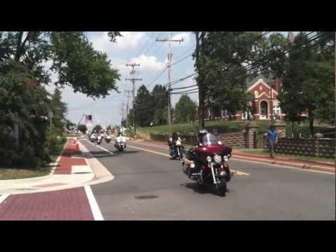 America's 9/11 Motorcycle Ride Through Leesburg, VA