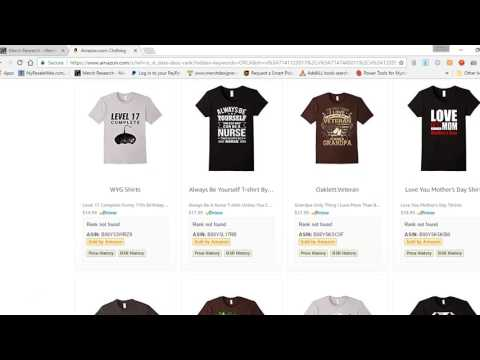 Merch By Amazon Niche Research Made Easy