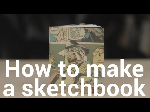 How to make a Sketchbook - Tutorial