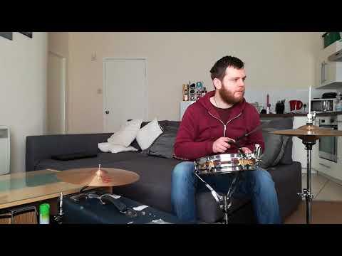 Suitcase drum kit demo