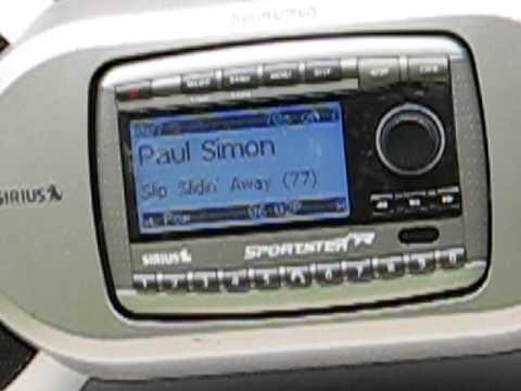 Sale Item Demo - Sirius Sportster Satellite Radio Boombox - SP-B1A