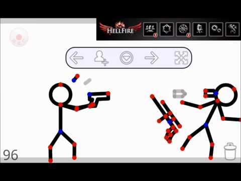 How to make stick fight animations on android