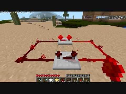 Minecraft - Redstone Repeater Clock
