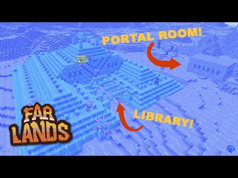 OMG! Minecraft Stronghold In A Sea Temple! - Far Lands (Ep.7)