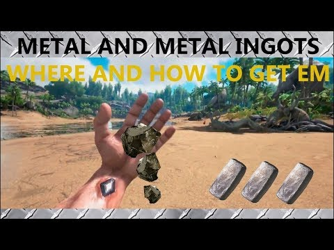 how to make iron ingot Ark survival
