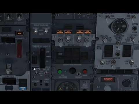 Puesta en marcha del Boeing 737NGX en el simulador