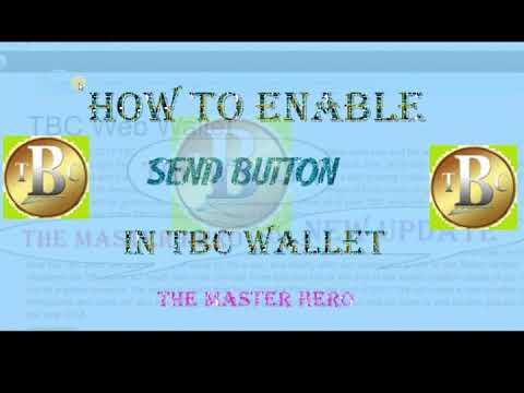 How to enable Tbc send button? in Hindi/Urdu full Tutorial 2017