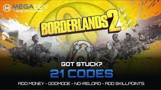 Borderlands god mode   Borderlands 2 Cheats and Trainers