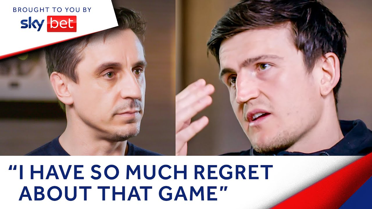 Harry Maguire reveals to Gary Neville why he chose United over City, EURO hopes & more   The Overlap