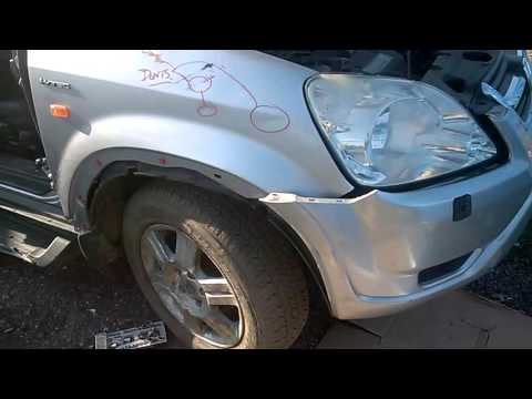 How to change  a car fender /Wing Honda CRV