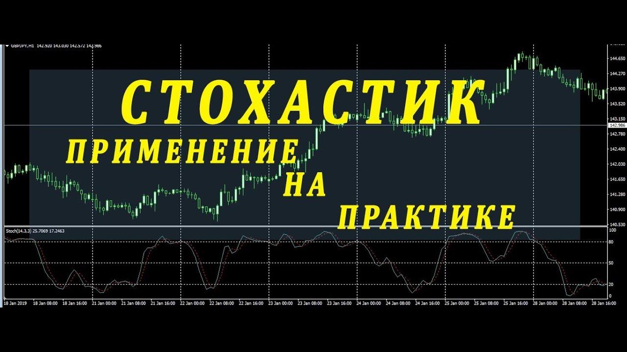 индикатор стохастик стратегия/настройка/как торговать по стохастику